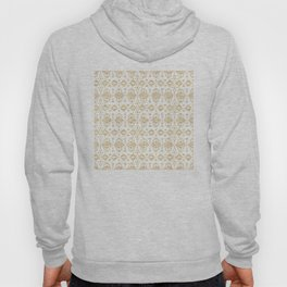 Luxury gold geometric tribal Aztec pattern Hoody
