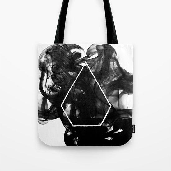 Black Smoke Tote Bag