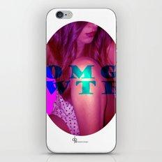 OMG WTF iPhone & iPod Skin