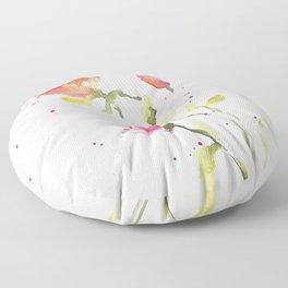 Baby roses Floor Pillow