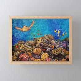 Coral Bliss Framed Mini Art Print