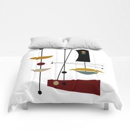 Mid Century Art 11 Comforters