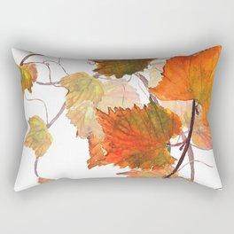 orange grapevine 2 Rectangular Pillow