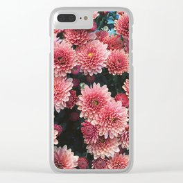 Sunshine Flowers Clear iPhone Case