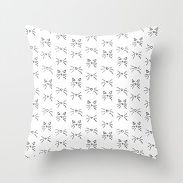 Kitty Whiskers Throw Pillow