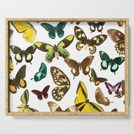 Butterflies Serving Tray