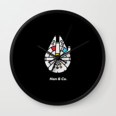 Han and Co Wall Clock
