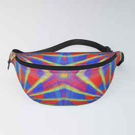 Quadro #1 Vibrant Psychedelic Optical Illusion Fanny Pack