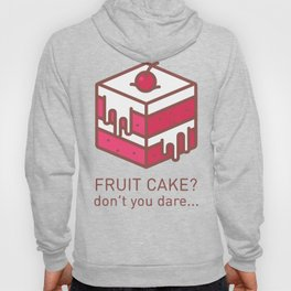 Fruitcake Sweaters Funny Lame Christmas Gift Meme Hoody