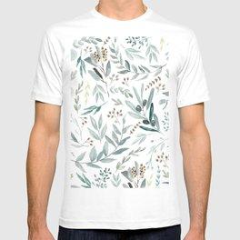 Eucalyptus pattern T-shirt