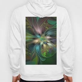 Colorful Abstract Fractal Art Hoody