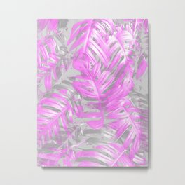 silver and musk, foliage Metal Print