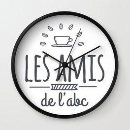 Les Amis de L'ABC Wall Clock