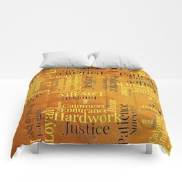 """Proud to be """"H"""" Comforters"""