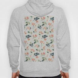 Viburnum Botanical pattern Hoody