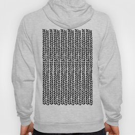Knit Wave Black Hoody