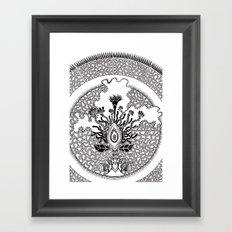 Semilla Framed Art Print