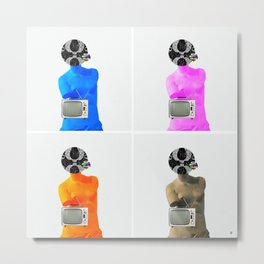 Statue Life TV · 4x Metal Print