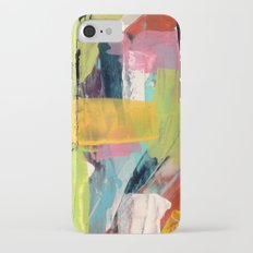 Hopeful[2] - a bright mixed media abstract piece Slim Case iPhone 7