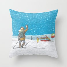 Freeze Throw Pillow