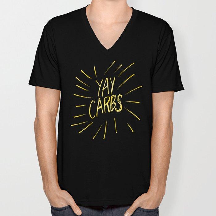 yay carbs Unisex V-Neck