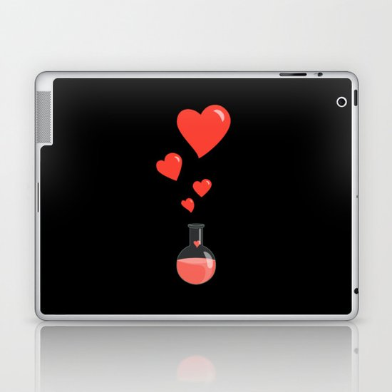 Love Chemistry Flask of Hearts Laptop & iPad Skin