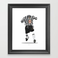 Newcastle United 1997-1998-1999 Framed Art Print