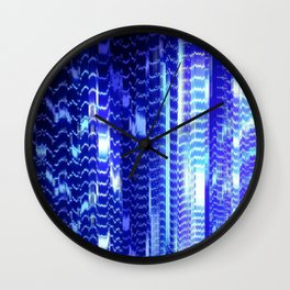 ventilation system disintegration Wall Clock