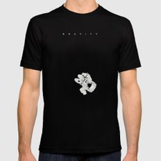 G. Mens Fitted Tee Black X-LARGE