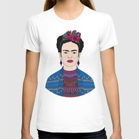 frida kahlo T-shirts featuring Frida Kahlo by Bianca Green