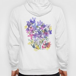 Little Fairy Field Flowers Hoody