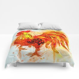 Rooster Painting Comforters