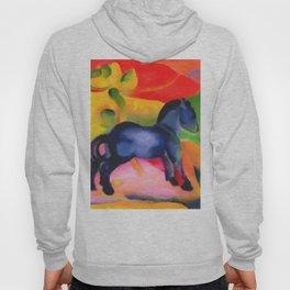 """Franz Marc """"Little Blue Horse"""" Hoody"""