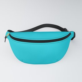 From The Crayon Box – Cadet Blue - Bright Blue Solid Color Fanny Pack
