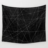 constellations Wall Tapestries featuring Constellations by Dood_L