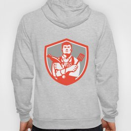 Jack of All Trades Crest Retro Hoody