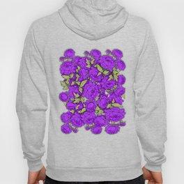 Purple Peonies Hoody