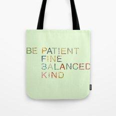 Skinny Love Quote Tote Bag