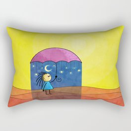 We Only Come Out at Night Rectangular Pillow