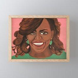 First Lady Framed Mini Art Print