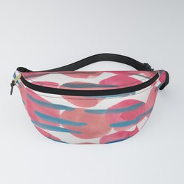 22   | 190408 Red Abstract Watercolour Fanny Pack