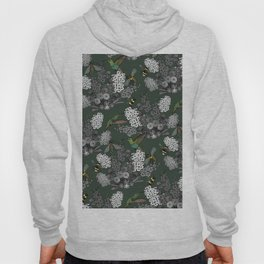 Hummingbirds and Bees (don't let them fade away) Hoody