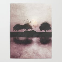 Positive Sunset Poster