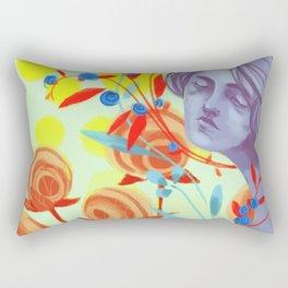 queen of peace Rectangular Pillow
