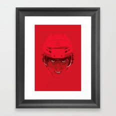 Ovechkin Superhero Framed Art Print