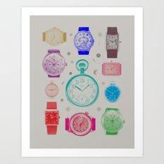 Colour version Art Print