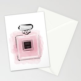 Pink perfume #3 Stationery Cards