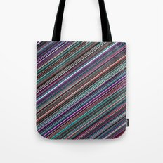 The randomized stripes Tote Bag