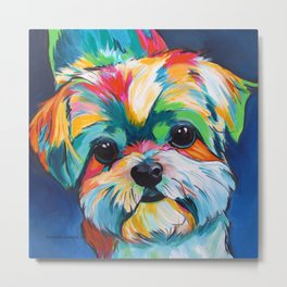 Orion the Shih Tzu Metal Print
