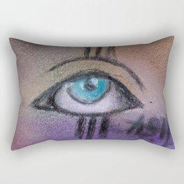 eye only Rectangular Pillow